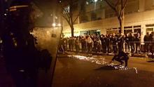 中国系デモ、警官と衝突=パリ