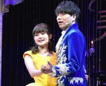 昆夏美&山崎育三郎、生歌披露に緊張 ディズニー音楽の巨匠が絶賛