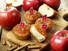 シナモン×リンゴ!パブロミニに季節限定タルト「シナップル」--特製のアップルピックが可愛い