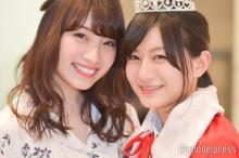 新旧日本一かわいい女子高生が対面!りこぴん&ゆきゅん「もちろん顔も可愛い!」と絶賛