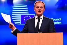 英離脱で一段と団結=EU大統領