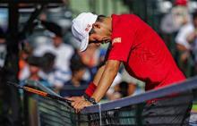 錦織が準々決勝で敗退=男子テニス
