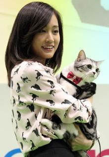 前田敦子、愛猫との充実ライフを満喫「2人ともねえねえってやってくる」