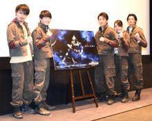 『仮面ライダーアマゾンズ』駆除班俊藤光利&小林亮太ら、新シリーズの魅力語る