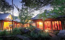 【男の隠れ家】広大な森に包まれて過ごすひとりの時間 温泉山荘 だいこんの花