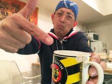 2005年阪神優勝時に買った想い出のマグカップ――奉納できるのはいつの日か?