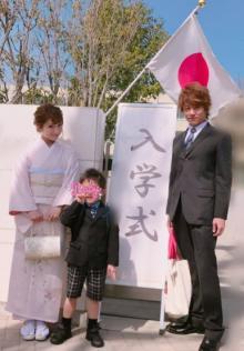 辻希美 和装で長男の入学式に出席「素敵な小学校生活を送って」