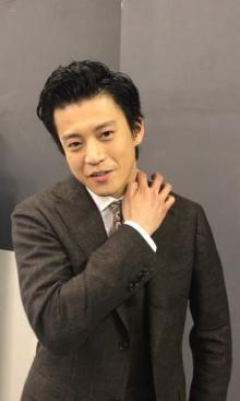 """ドラマCRISIS「2話は100倍おもしろい」小栗旬が""""稲見のグンティン祭り""""を予告"""