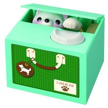 シャイン、硬貨を置いて声を掛けると犬が出てくる貯金箱「おへんじBANK こいぬ」を発売