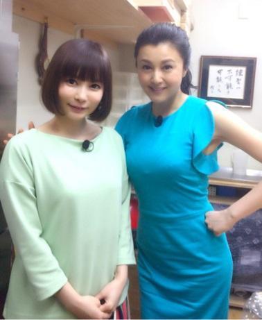 中川翔子 憧れの藤原紀香と2ショット公開、骨格の違いに驚愕