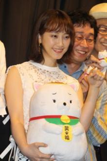 松井玲奈富美加ネタに苦笑い 飯塚監督「やめるということがテーマになっている」