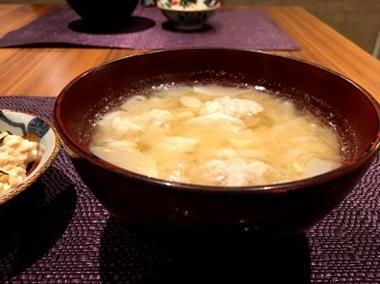 保田圭 初体験のシュウマイ入り味噌汁を絶賛「美味しかった」