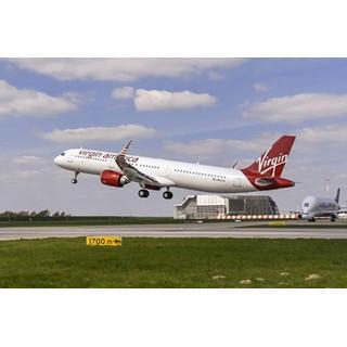 エアバスA321neo初号機を納入--ヴァージン・アメリカが5/31より商業運航