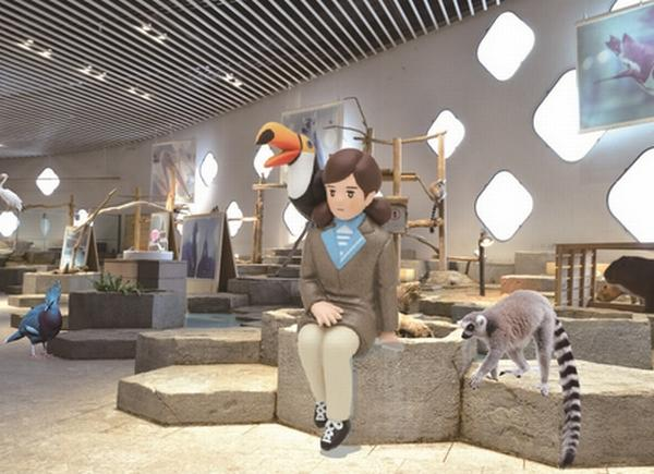 コップのフチ子が巨大化!生きているミュージアム「NIFREL」で特別企画