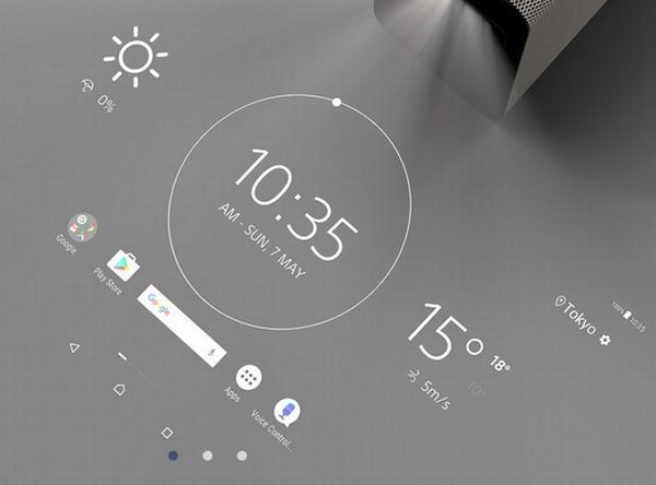 ソニー、投影映像をタッチ操作できるプロジェクター「Xperia Touch」を発表