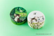 森で遊ぶ猫のダヤンが可愛い--『スチームクリーム』に「わちふぃーるど」の限定コラボ缶第2弾