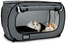 ネコと一緒に避難したい--ネコ用ポータブルケージ/トイレ ギフトセット登場