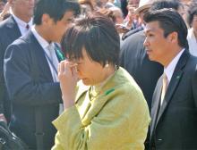 安倍昭恵さん 桜を見る会での「号泣姿」をキャッチ