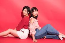 松永有紗&早乙女ゆうが高校卒業で「今」しか撮れないメモリアルなグラビアを披露!
