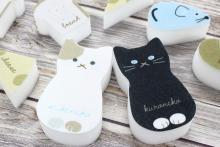 3COINSの「メラミンスポンジ」が可愛い♪ネコやネズミのデザインでプレゼントにもぴったり