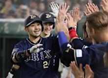オリックス4連勝=プロ野球