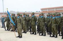 与那国駐屯地開設1年で式典=防衛政務官「領土守り抜く」-沖縄