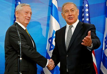 化学兵器保持「間違いない」=イスラエル訪れシリア非難-米国防長官