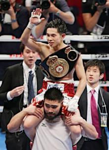 井岡、5度目の防衛に成功=ボクシング