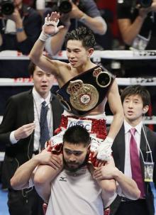 井岡、5度目の防衛に成功=大森は王座獲得ならず-ボクシング世界戦