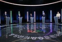 外交・安保で論戦=大統領候補がTV討論-韓国