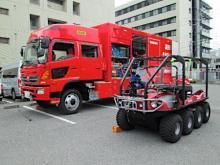 津波・風水害の対策車配備