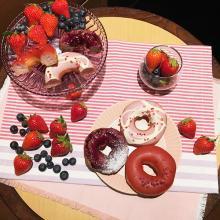 クリスピー・クリーム・ドーナツの新作で旬のベリーを堪能♡