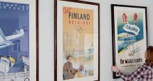 フィンランドの独立100周年を記念してビンテージ旅行ポスターを集めた展覧会が開催