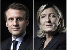 マクロン、ルペン氏が決選へ=反EUの極右、15年ぶり進出-仏大統領選