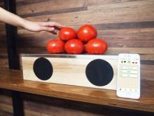 「おす、俺トマト」商品がしゃべる未来のポップが買い物を変える!?