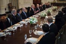 新たな北朝鮮制裁準備を=「問題解決する時」と米大統領
