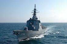 日米イージス艦が日本海で訓練