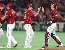楽天が3連勝=プロ野球・楽天-ロッテ