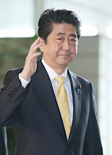 日米首脳、北朝鮮に自制要求