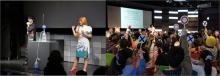 ソニー・エクスプローラサイエンスで4K映像コンテンツを公開。GW期間中は「科学実験ショー サイエンスバトラー」連日開催