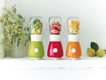 【レコルト】作ってそのまま飲めるガラスジャー&持ち運べるトライタン製ボトルの2wayブレンダー『ソロブレンダーソラン』