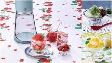 フワフワとシャリシャリ、2つの食感のかき氷が簡単に楽しめる♪ 「Toffy電動かき氷器」3種のカラーで新登場!
