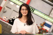 嵐・相葉雅紀主演月9で話題の田中道子、日本一美しいメガネ姿を披露【今週のメガネ美女】