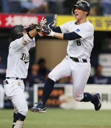 オリックスがサヨナラ勝ち=プロ野球・オリックス-西武
