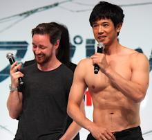庄司智春、筋肉でシャマラン映画出演を狙う!ジェームズ・マカヴォイも爆笑