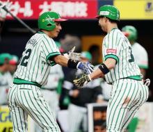 福田が決勝2ラン=プロ野球・オリックス-ソフトバンク