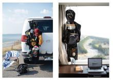 旅先で荷物が散らかりがちな人に朗報、クローゼットのようなバッグ