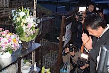 関越バス事故5年で追悼