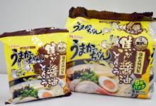 九州人溺愛袋麺「うまかっちゃん」に焦がし醤油とんこつが登場