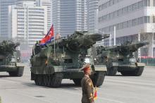 弾道ミサイル発射、失敗か=数分で爆発、内陸に落下-対艦用準中距離の見方・北朝鮮